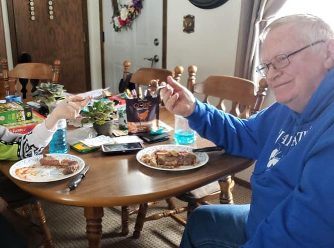 Grandpa promised a 'big steak' for Jayme Closs when she came home. He lived up to his vow.