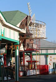 Ye Old Mill at Playland in Rye Feb. 5, 2019.