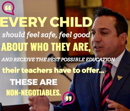 Dr. Claudio Cerullo, founder of Teach Anti Bullying, wants better anti-bullying legislation.