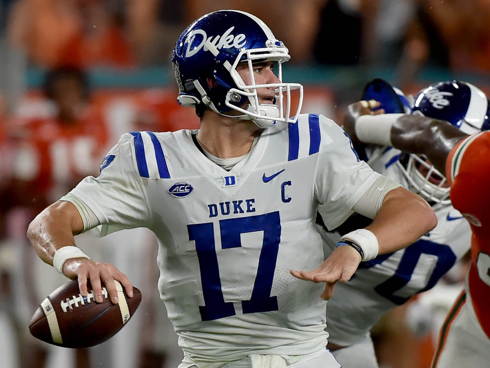 10. Broncos - Daniel Jones, QB, Duke