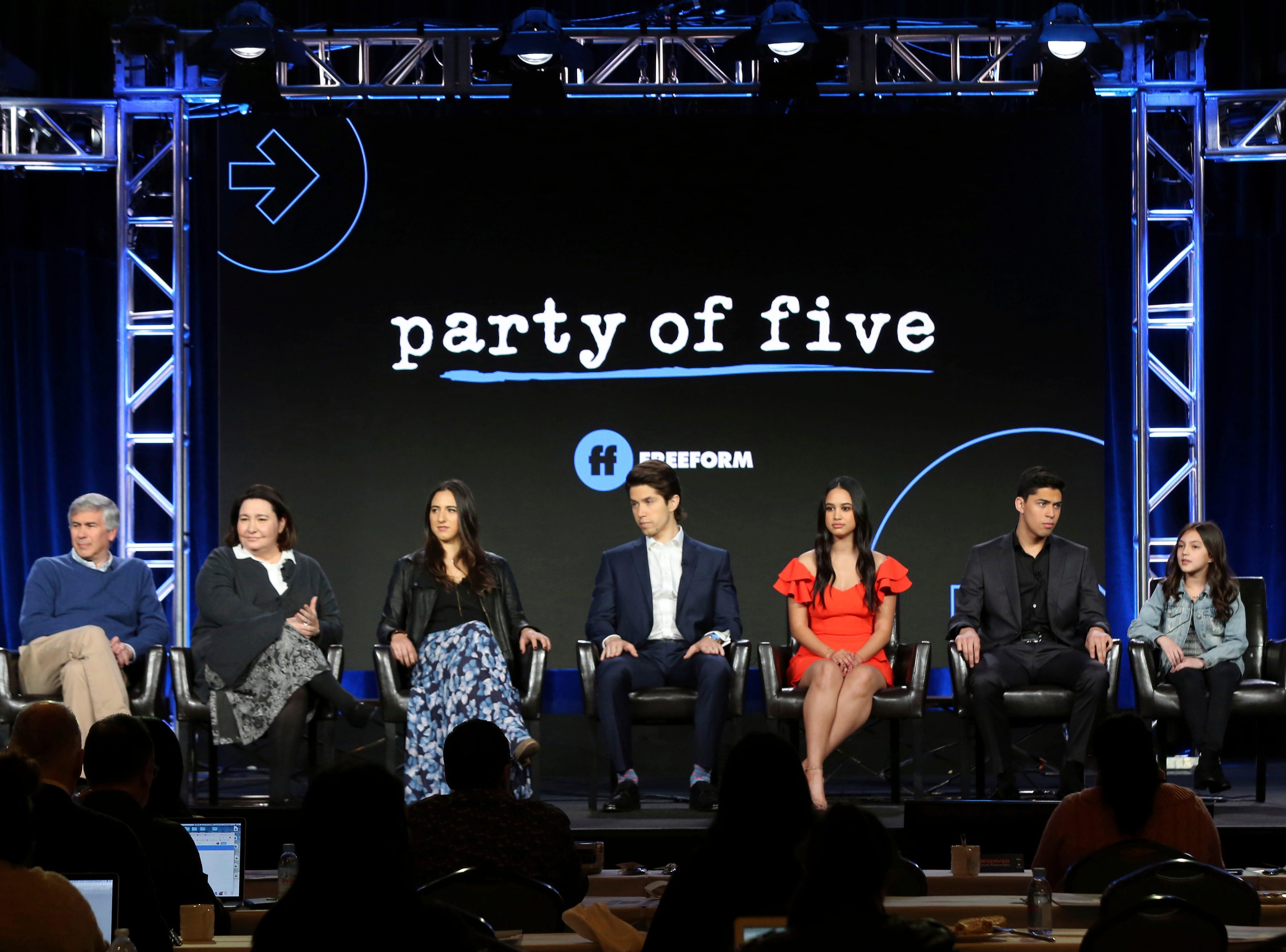 "Chris Keyser, Amy Lippman, Michal Zebede, Brandon Larracuente, Emily Tosta, Niko Guardado and Elle Paris Legaspi discuss the new ""Party of Five"" on Freeform."