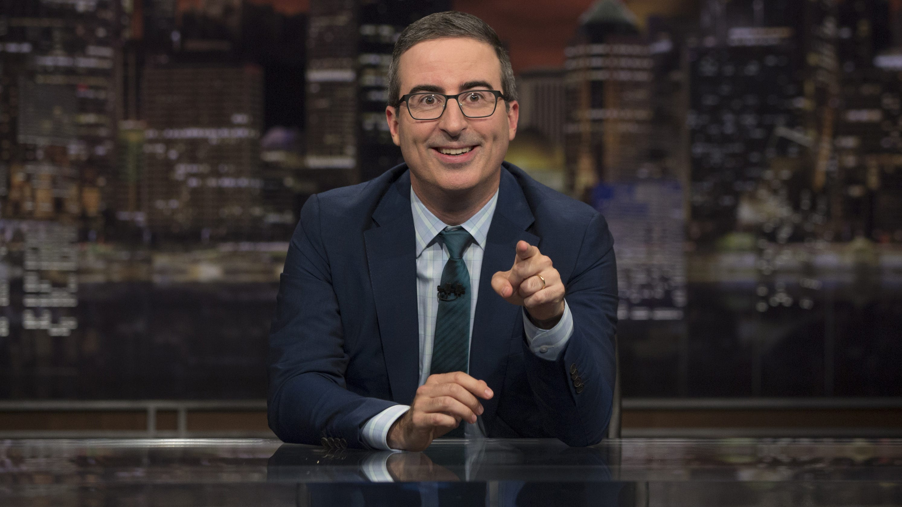 John Oliver weighs in on news he missed, from 'stupid' shutdown to Ocasio-Cortez dancing