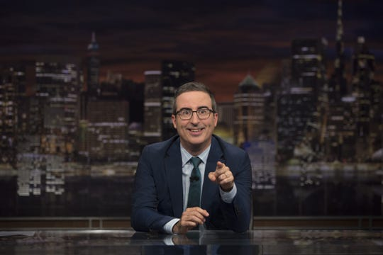 "John Oliver is back with his Emmy-winning ""Last Week Tonight"" on Sunday."