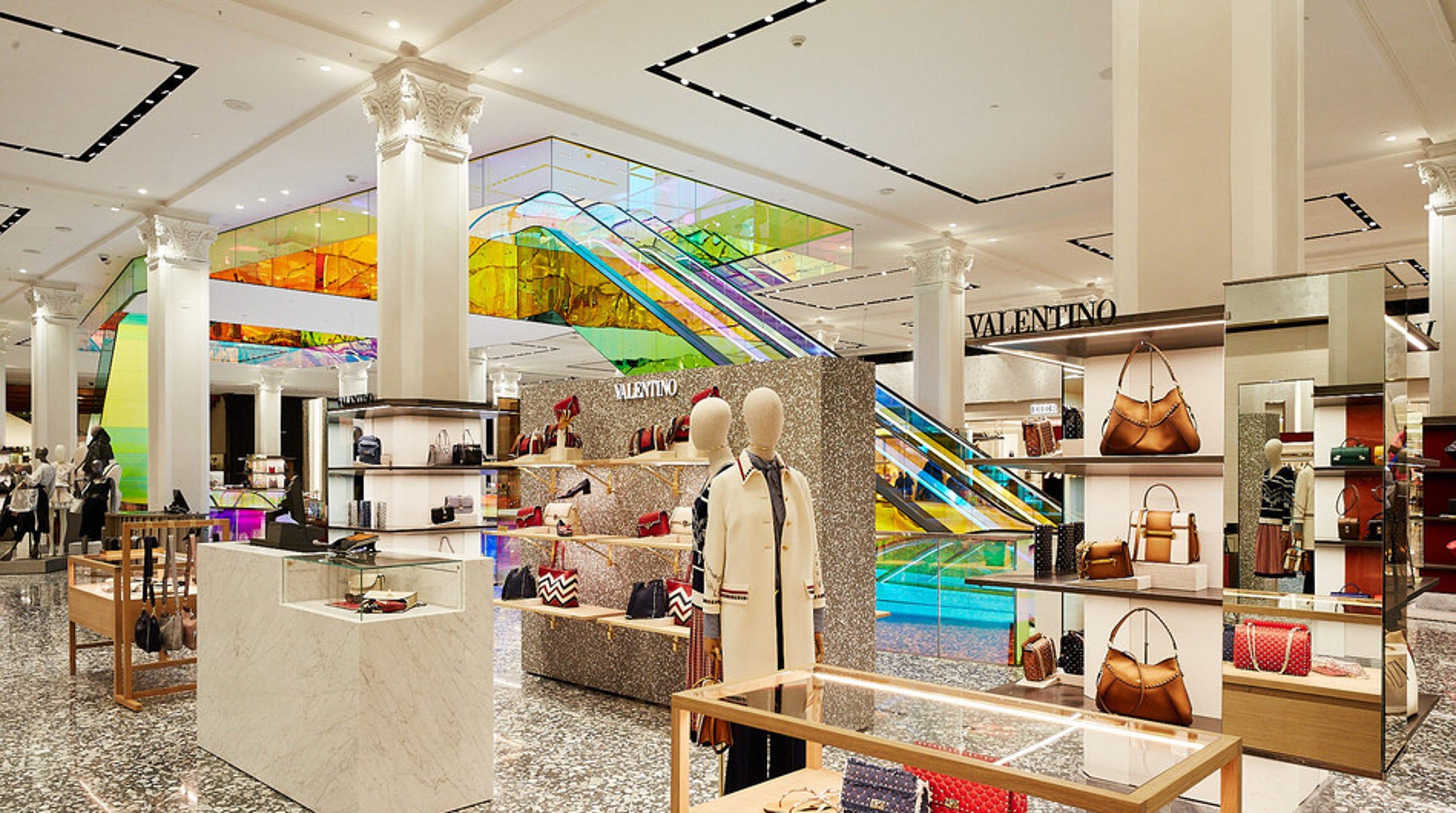 3007f1e87241 Saks says this isn't your grandma's department store: Prada, Valentino get  new home
