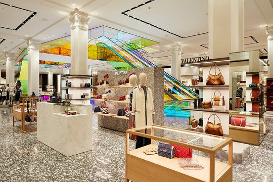 Saks Fifth Avenue unveils its new main floor at its New York City flagship, as it aims to reshape the department store experience.