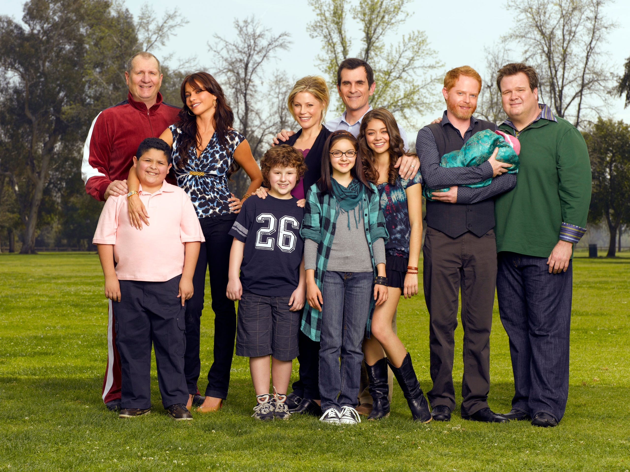 A Modern Family modern family through the years