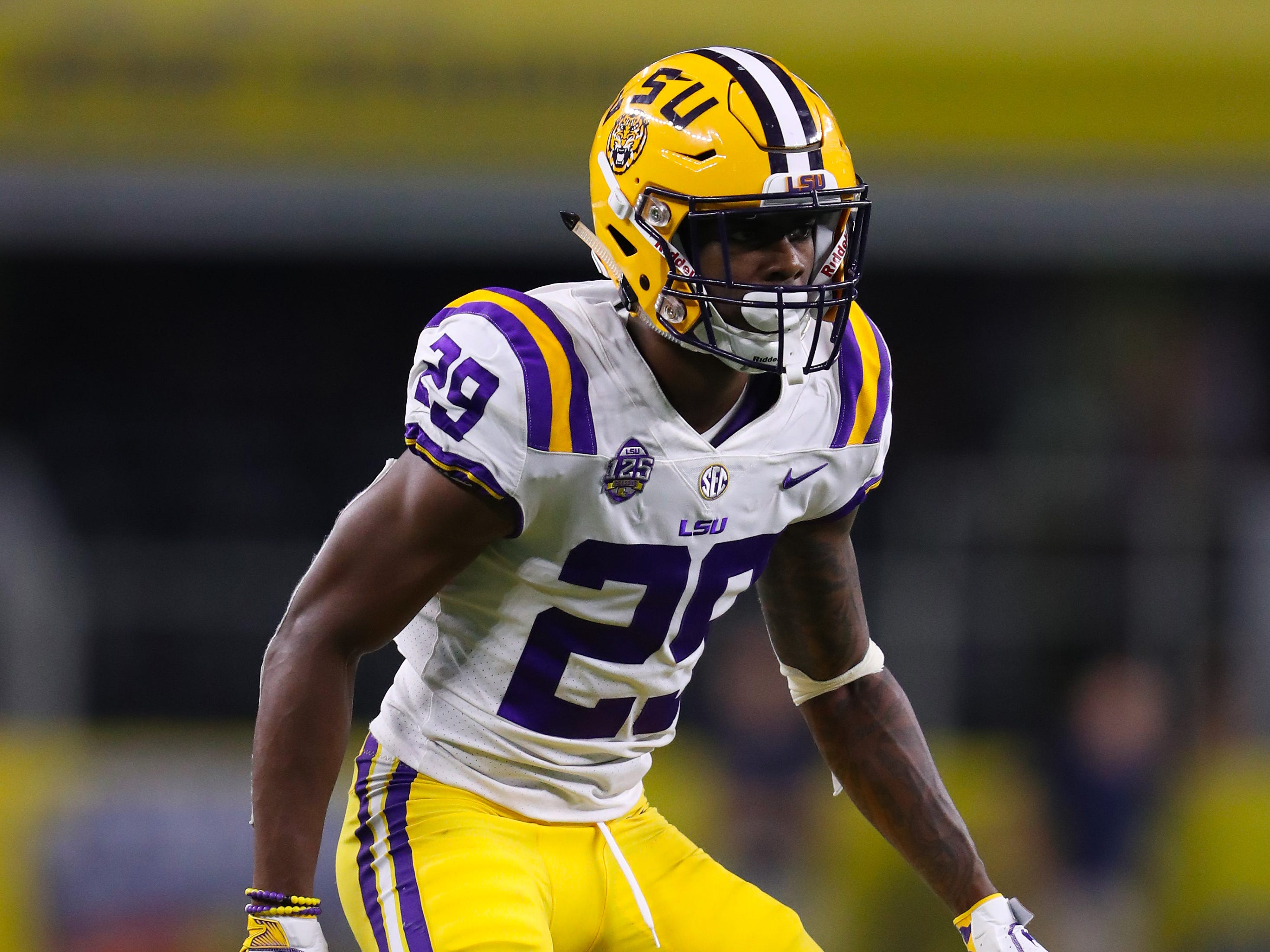 8. Lions - Greedy Williams, CB, LSU
