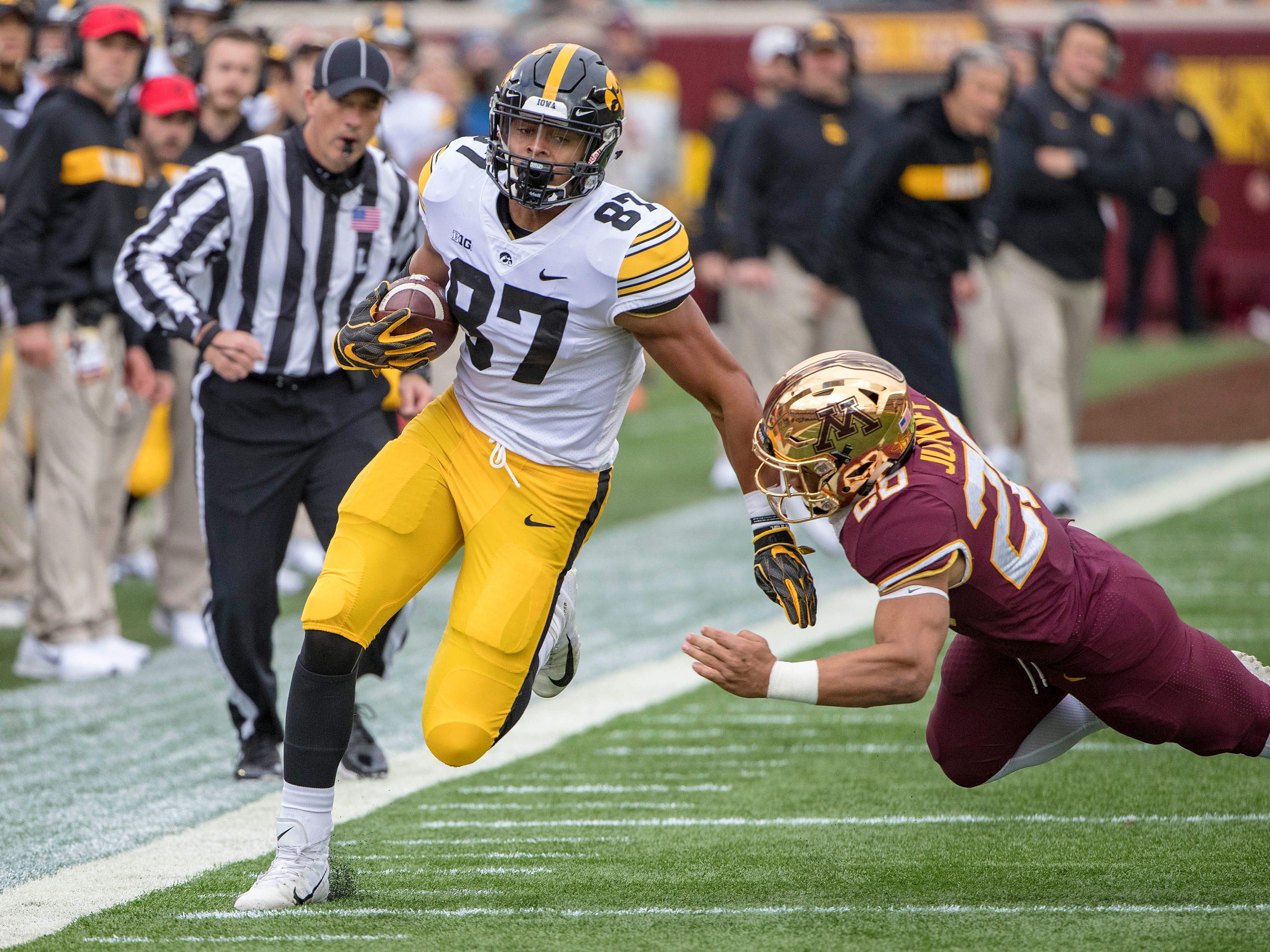 30. Packers - Noah Fant, TE, Iowa