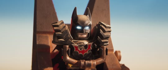 "Batman is ready for the post-apocalyptic world in ""Lego Movie 2."""