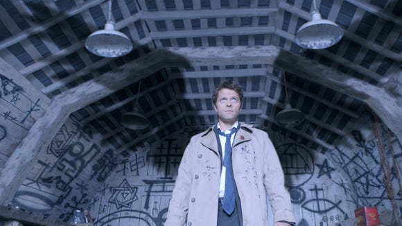 "The fourth-season introduction of angels like Castiel (Misha Collins) gave ""Supernatural"" a heavenly mythology."