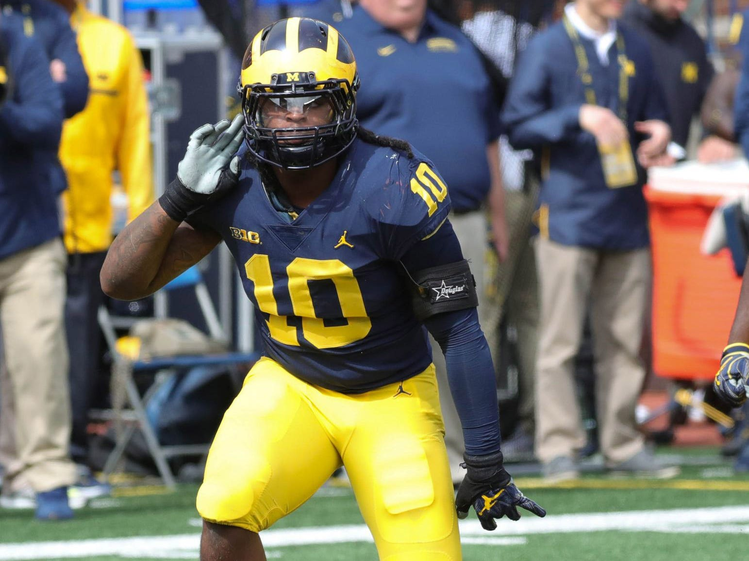 28. Chargers - Devin Bush, LB, Michigan