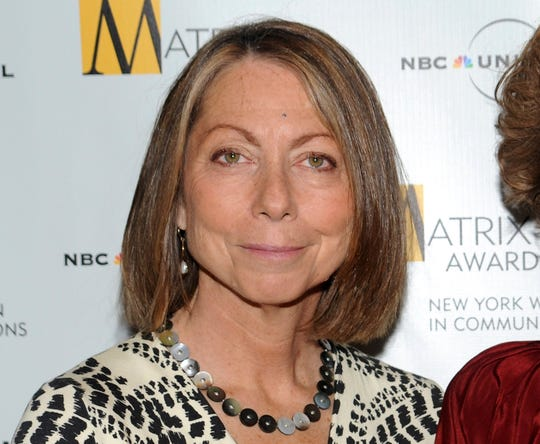 Jill Abramson in April 2010 at the Matrix Awards presented by the New York Women in Communications at the Waldorf-Astoria Hotel in New York.
