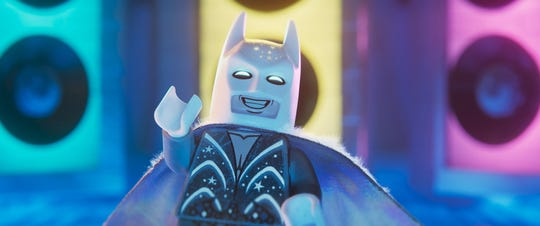 """Lego Batman (voiced by Will Arnett) gets some great new clothes in """"The Lego Movie 2: The Second Part,"""" including (wait for it) a wedding suit."""