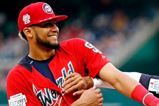 Fernando Tatis Jr. is the son of an 11-year MLB veteran.