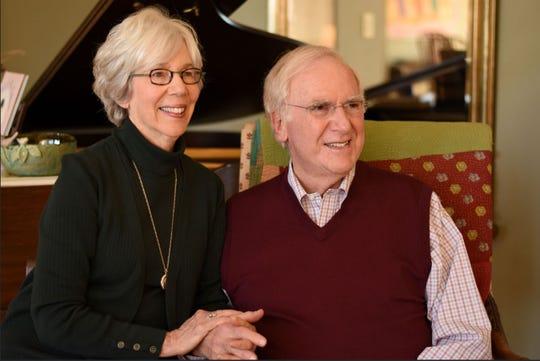 Judy and Henry Goldman in Charlotte, North Carolina. December 2018.