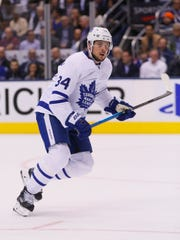 e9c0c4444 Maple Leafs forward Auston Matthews has 23 goals and 46 points in 38 games  this season