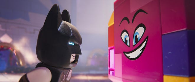 "It's on! Batman (Will Arnett) and Queen Watevra Wa'Nabi (Tiffany Haddish) fall in love in ""The Lego Movie 2: The Second Part."""