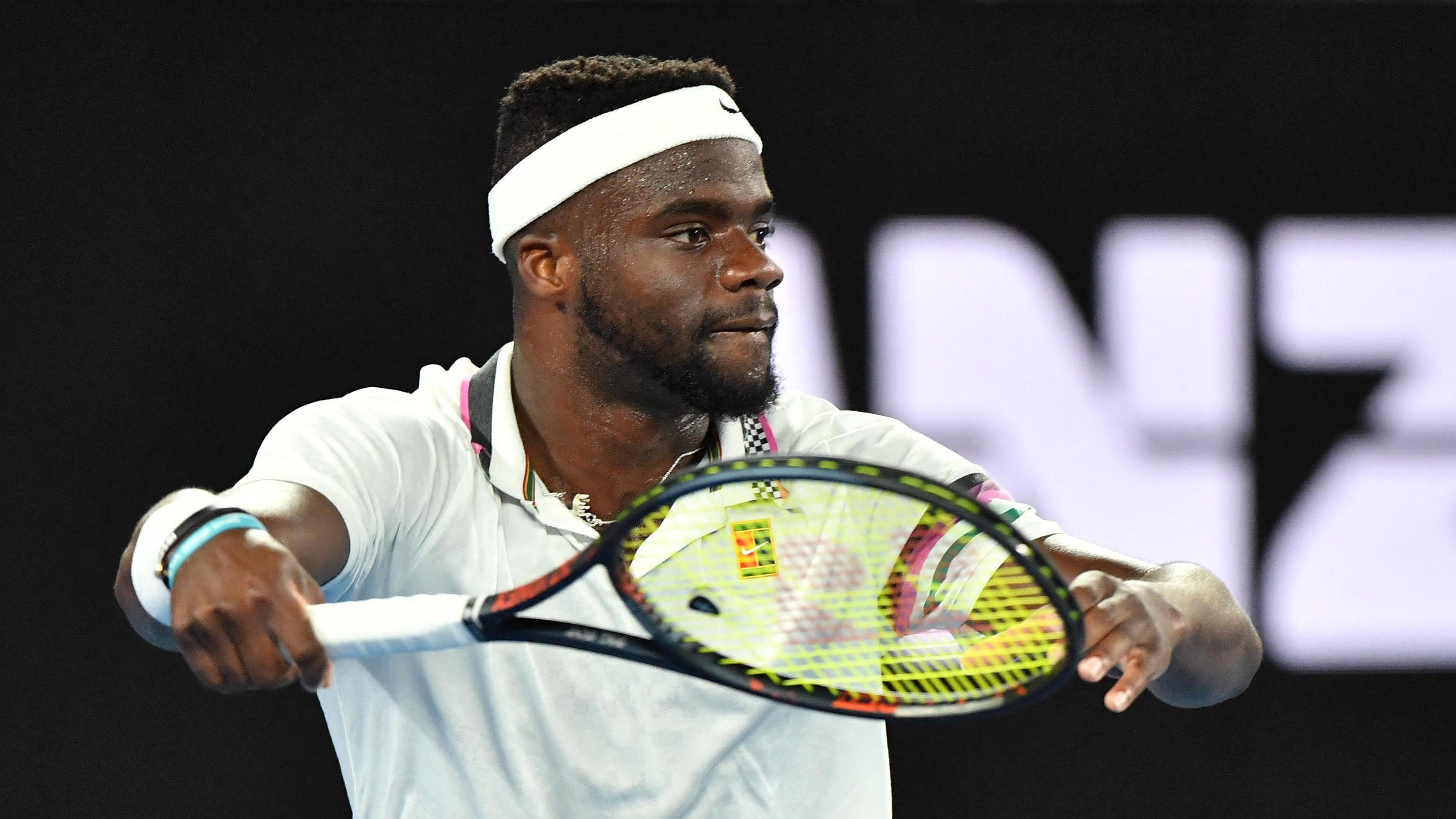 Frances Tiafoe made it to the quarterfinals of the Australian Open before losing to eventual finalist Rafael Nadal.