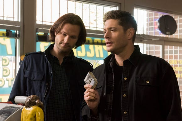 """Supernatural"" stars Jared Padalecki and Jensen Ackles are 14 seasons in and counting as the monster-hunting Winchester brothers."