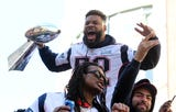 Boston threw a massive parade for the New England Patriots following their Super Bowl LIII win. Here are some moments from the madness.