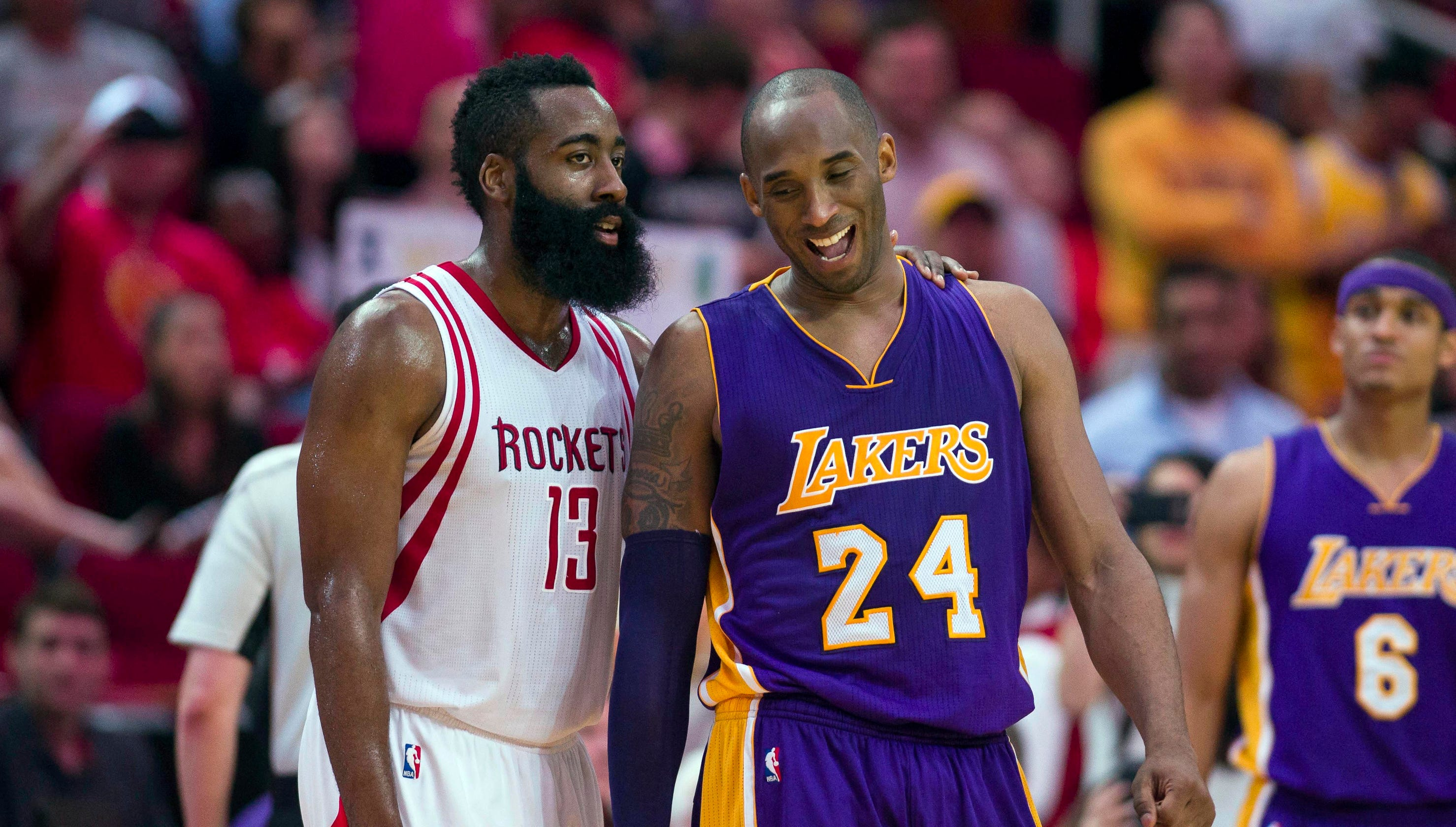 0ec34e8fc64 Kobe Bryant  Rockets can t win championship with James Harden dominating  ball
