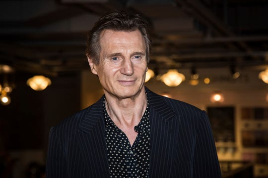"Liam Neeson, photographed in 2016,  opened up about a frightening interview Tuesday on ""Good Morning America."""