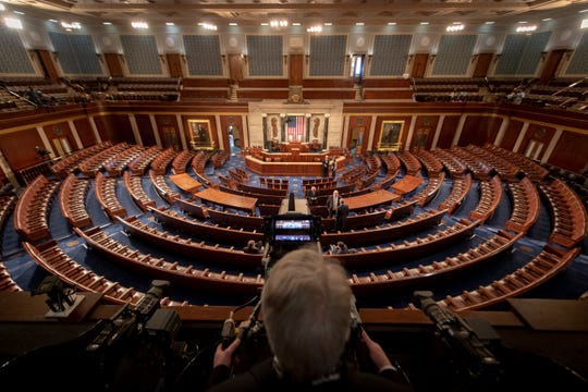 Washington, DC, U.S.A  -- Preparations are almost complete for President Donald Trump's second State of the Union address.