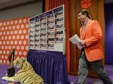 Clemson football coach Dabo Swinney talks about 29 player signing day class