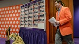 Clemson football coach Dabo Swinney talks about 29 player signing day class