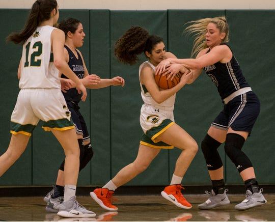 Manasquan vs Red Bank Catholic girls basketball.          Red Bank, NJTuesday, February 5, 2019