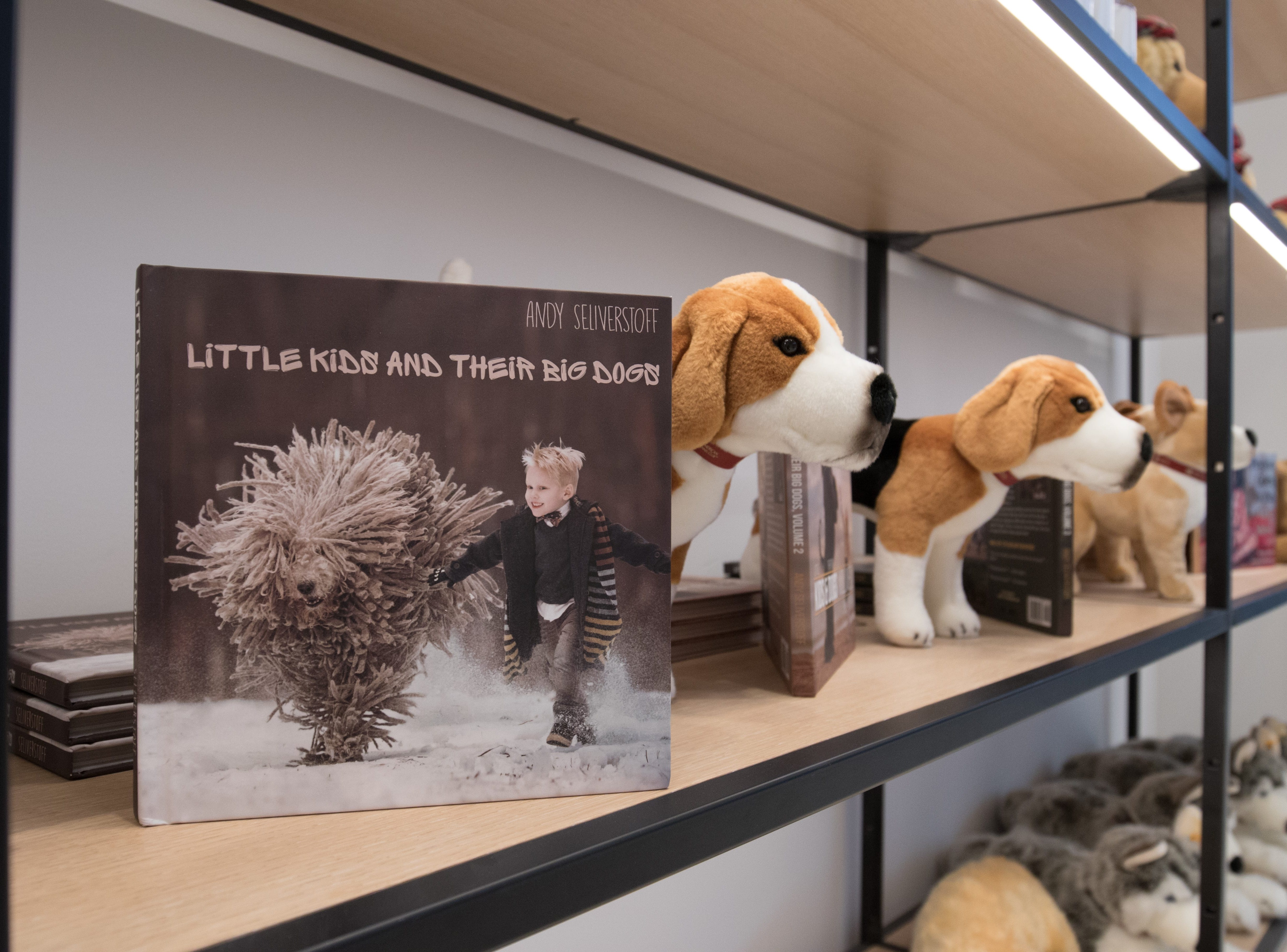 The gift shop at the Museum of the Dog.