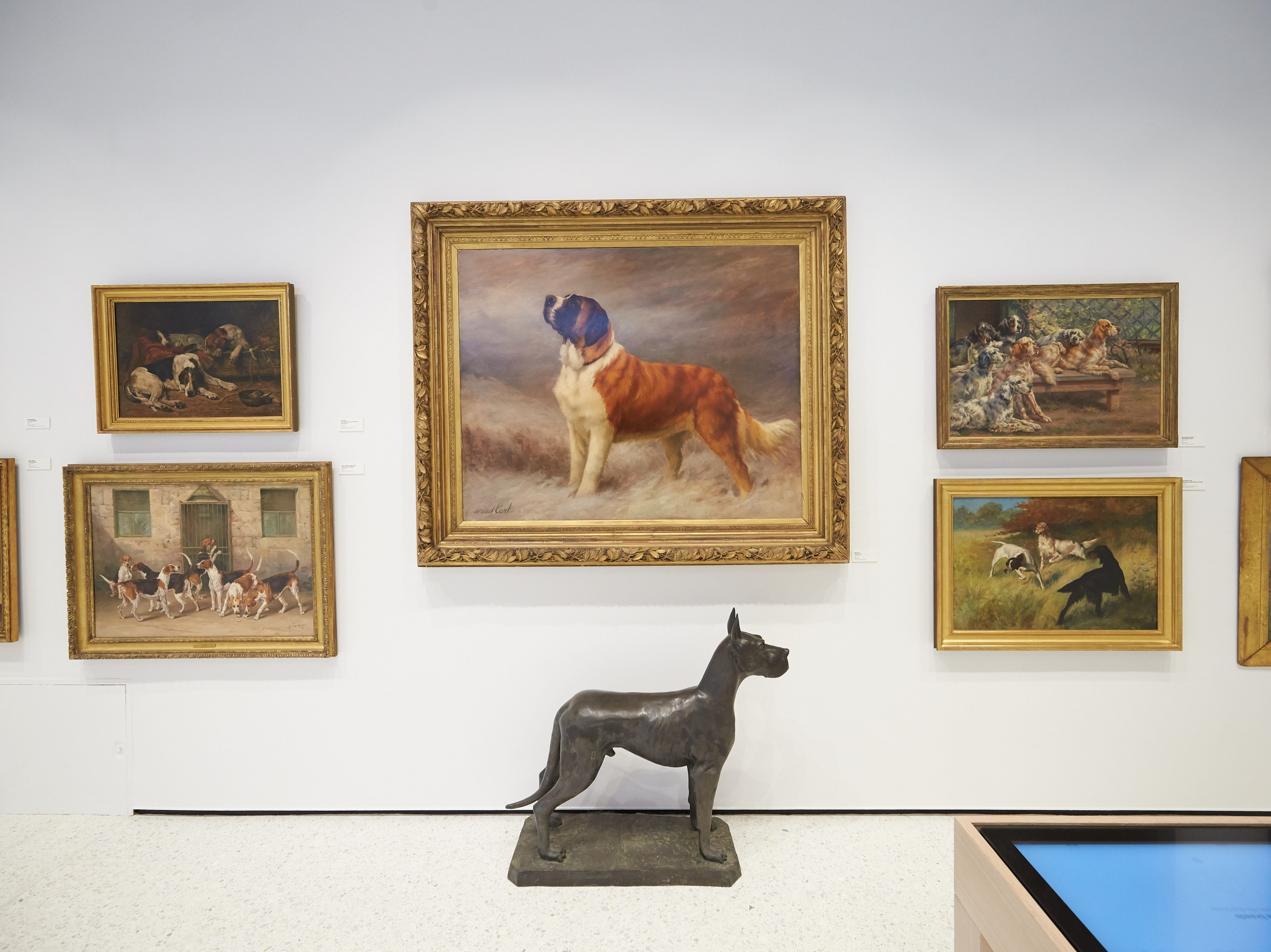 Puppers in fine art.