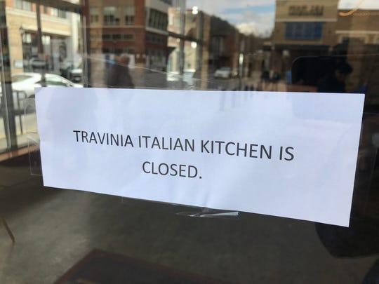 Travinia Italian Kitchen in Biltmore Park Town Square is closed.
