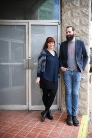 Katey Ryder and Donnie Pratt are the faces behind a new bar on Haywood Road in West Asheville set to open in April called The Golden Pineapple.