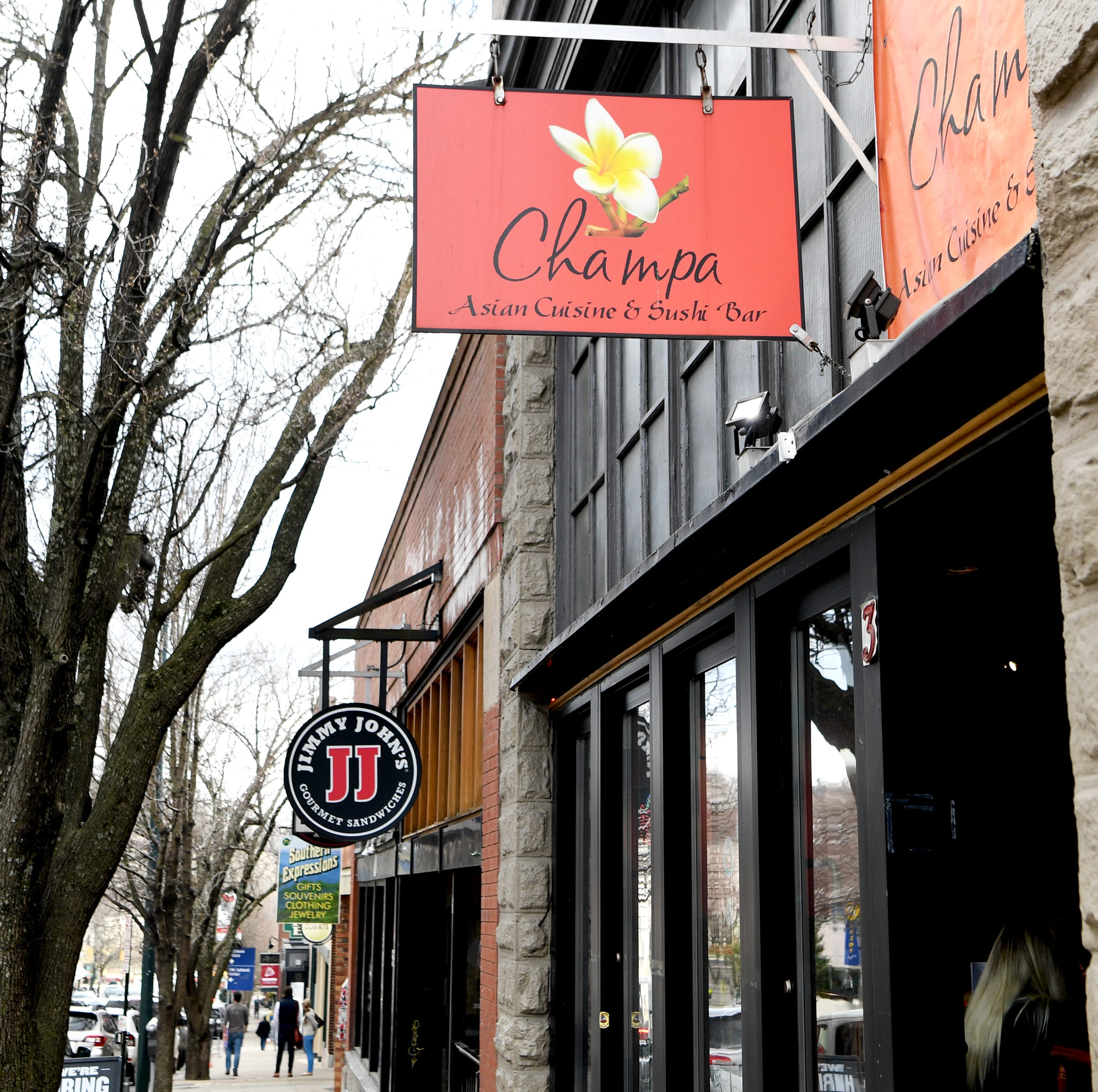 Champa has closed in downtown Asheville; The Wine and Oyster restaurant to move in