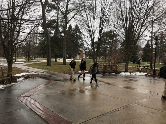 Albion College is finally seeing its enrollment go up after years of decline. The school is investing more into recruitment efforts and improving the look of the campus.
