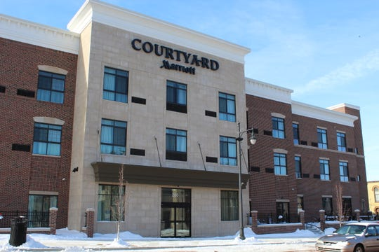 In 2018,  a $12 million Courtyard by Marriott hotel backed by Albion College alumni opened up downtown Albion.
