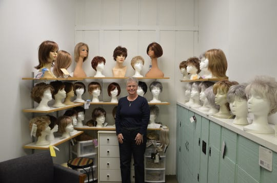 Joan Marshall has been in charge of Hair Shed/Natural Woman's cancer wig bank since she started working at Hair Shed/Natural Woman 30 years ago.