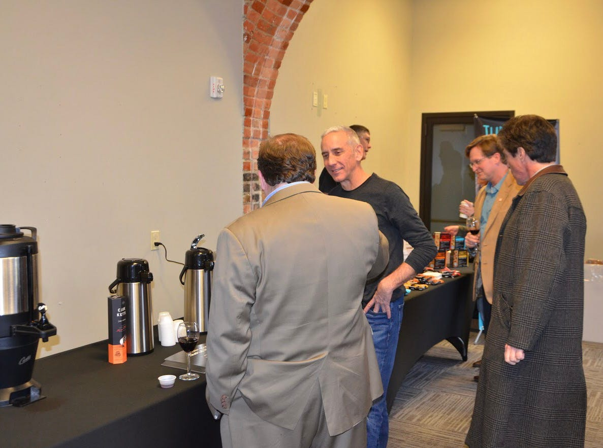JPG Resources, a food business consulting company, held an open house in its new building with some of the brands it has worked with, on Tuesday, Feb. 5, 2019. The company expects to move in around late March, early April.
