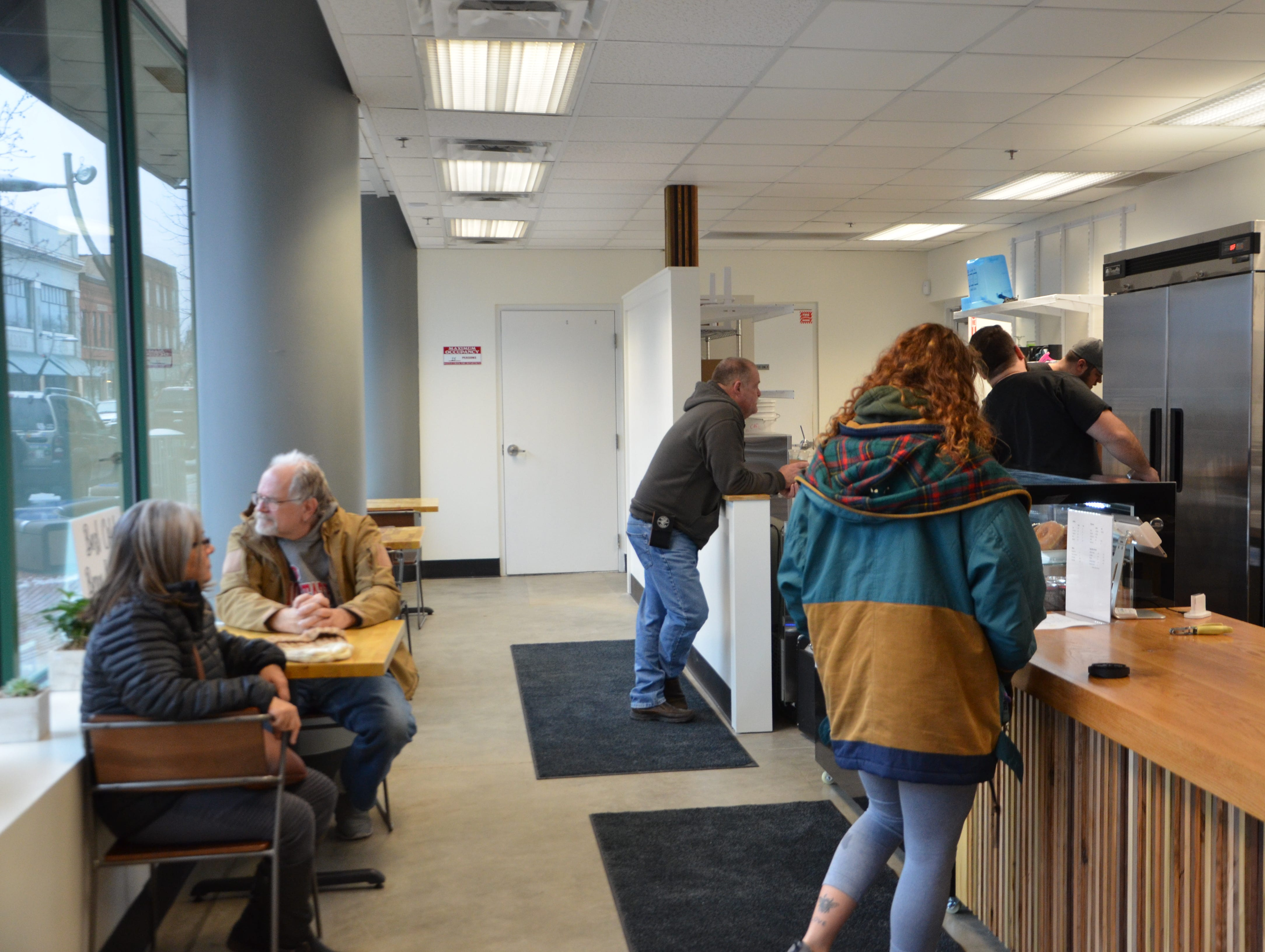 Cafe Rica reopened starting Wednesday, Feb. 6, 2019, at kiCH(ə)n, the new retail food service incubator at 80 West Michigan Ave.