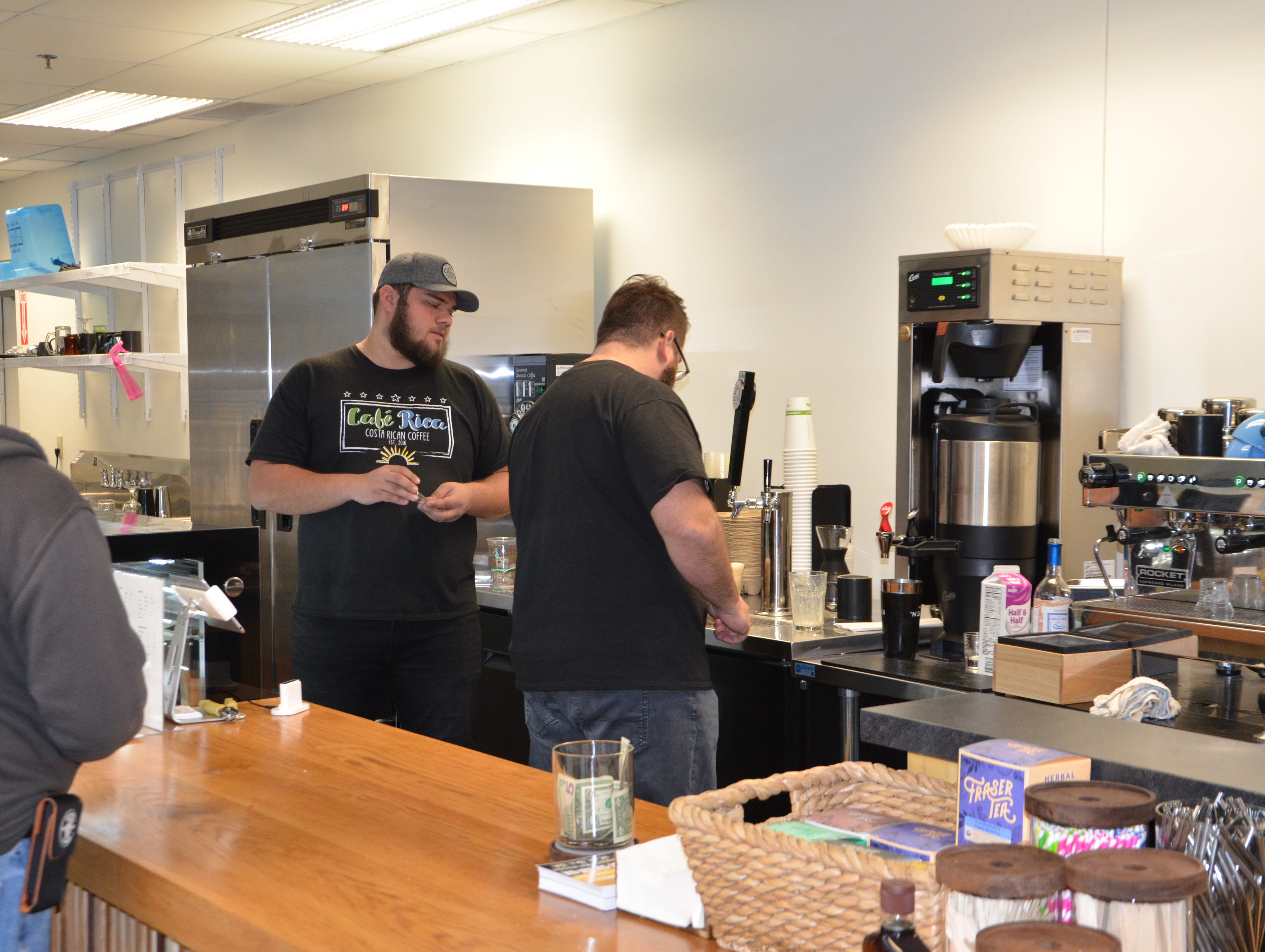 Cafe Rica, now at 80 West Michigan Ave., will be open seven days a week and has added espresso drinks, Continental Pastries & Deli baked goods, specialty teas and more to its menu.