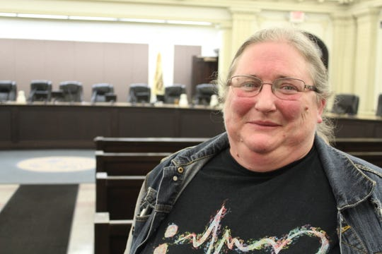 Henrietta McLaughlin spoke out at Tuesday's Battle Creek Commission meeting about what Battle Creek Transit services do for her.