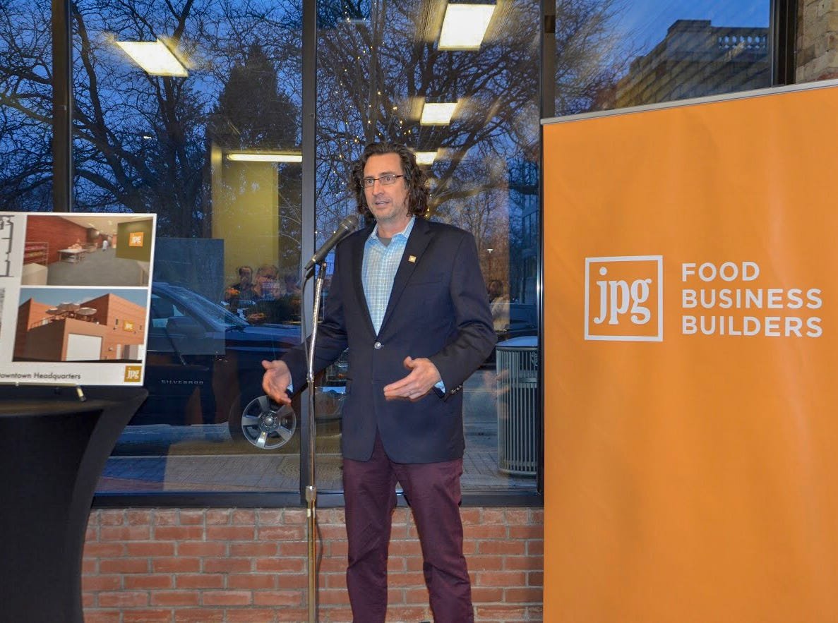 Jeff Grogg is the founder and managing director of JPG Resources, a food business consulting company started in Battle Creek.