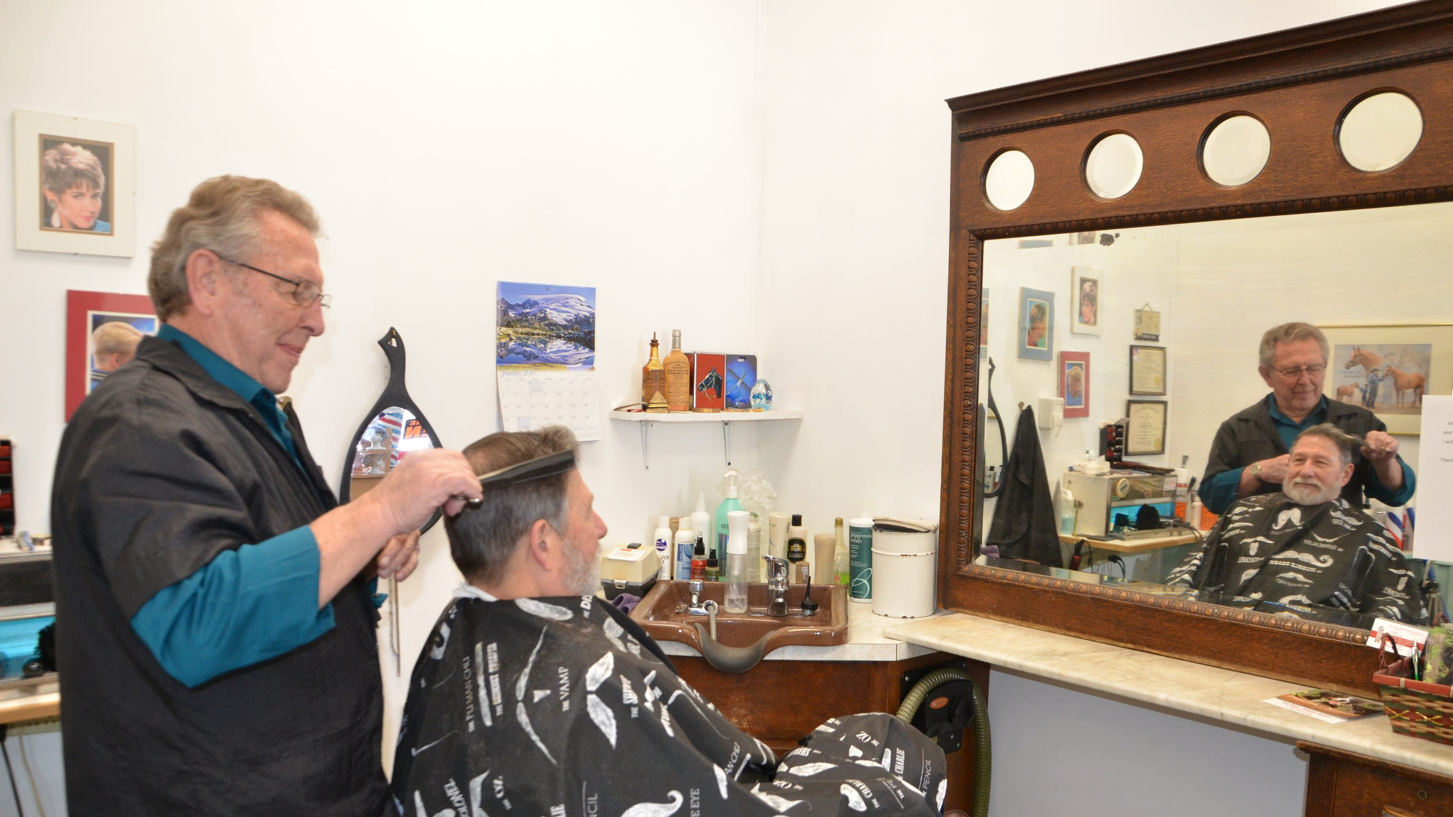 Hair Shed's Ken Bennett is retiring after more than 50 years