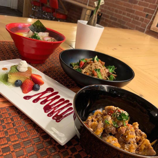 Nomikui Ramen in Binghamton is holding a Valentine's Special that includes one appetizer, two entrees, two drinks and a dessert for two for just $45.