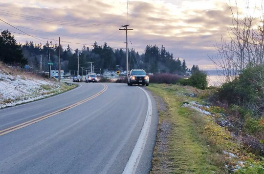 Kitsap County sheriff's were called Tuesday to Beach Drive after a nature photographer found a body on the shore.