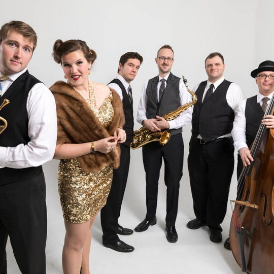 Carey Rayburn (left) and Good Co play Electro Swing Feb. 16 at the Admiral Theatre.