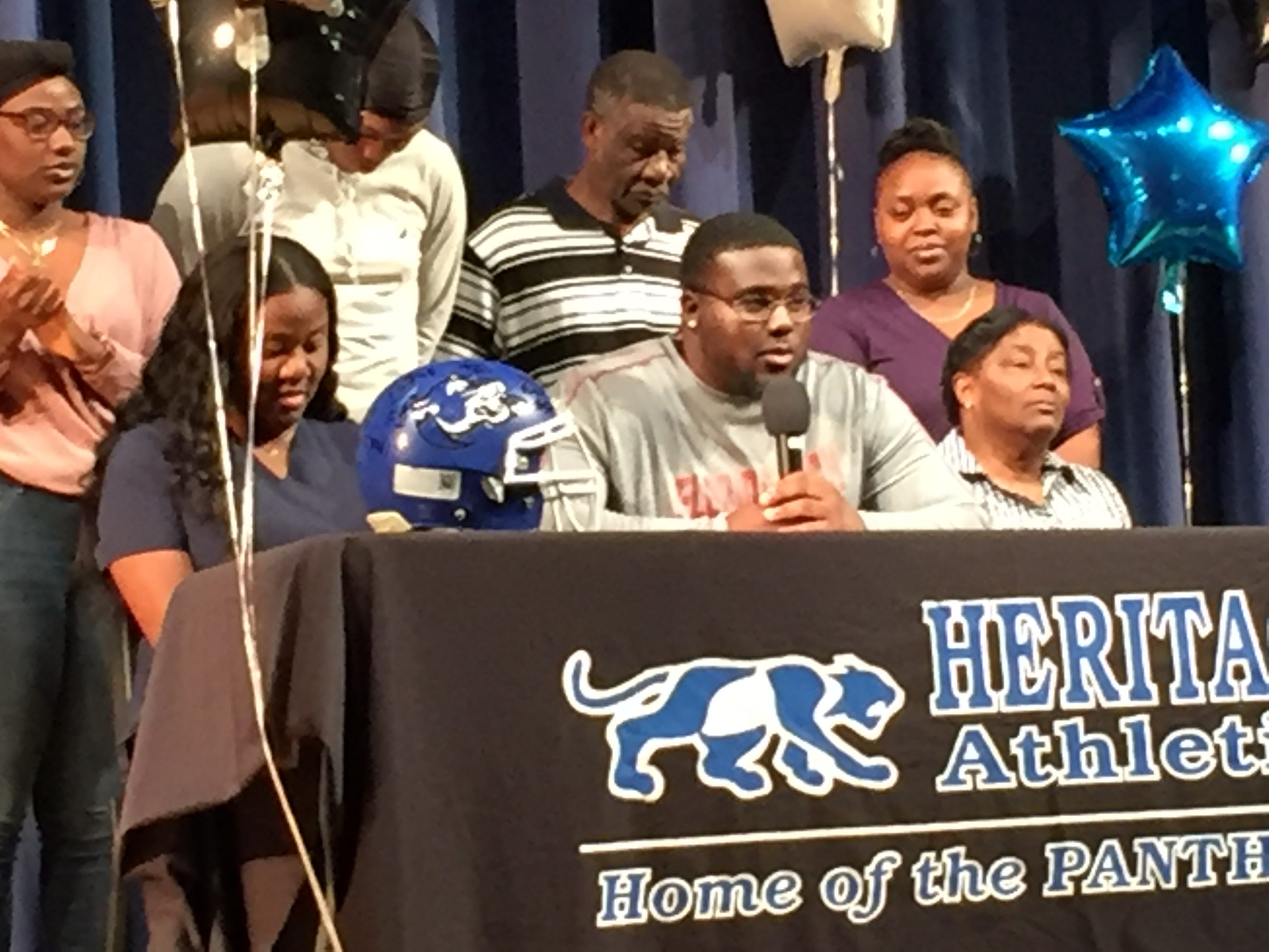 Terrion Howard talks about signing with Florida Tech football.