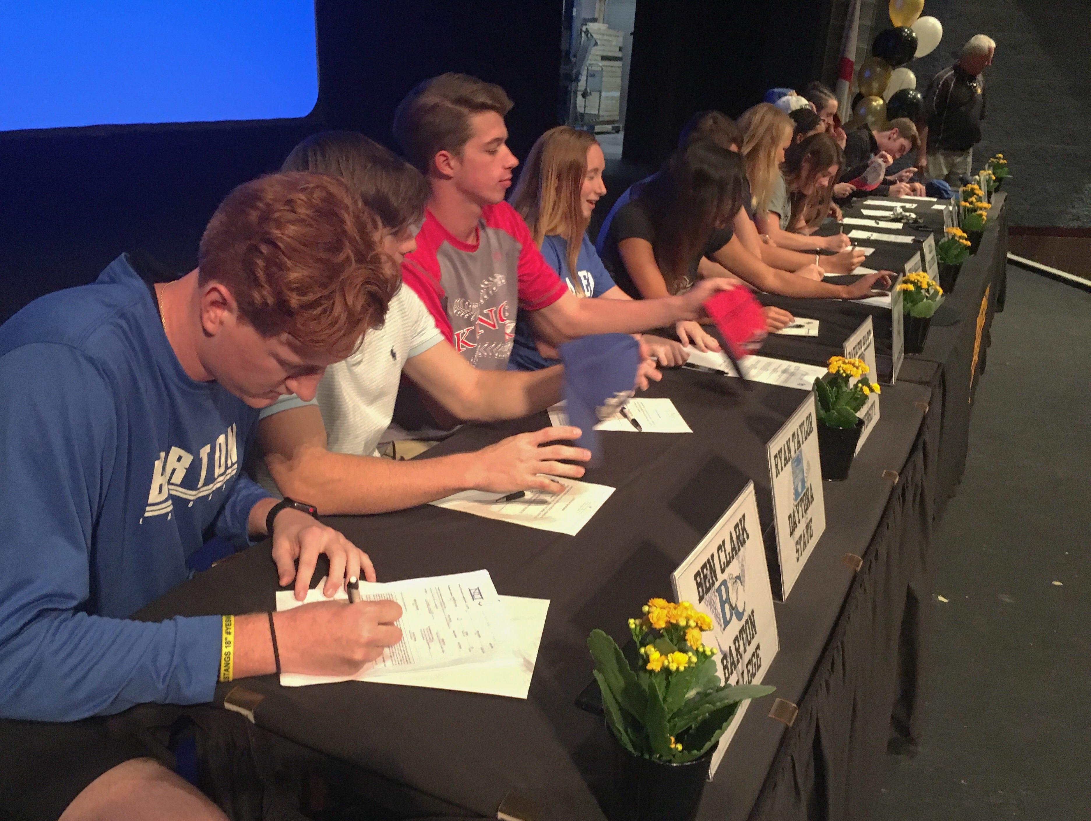 Merritt Island High Signing Day