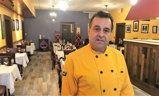 Ratib Ahmad, who opened Continental Flambe in 1996 in downtown Melbourne, reopened the restaurant in its original location on Jan. 4.